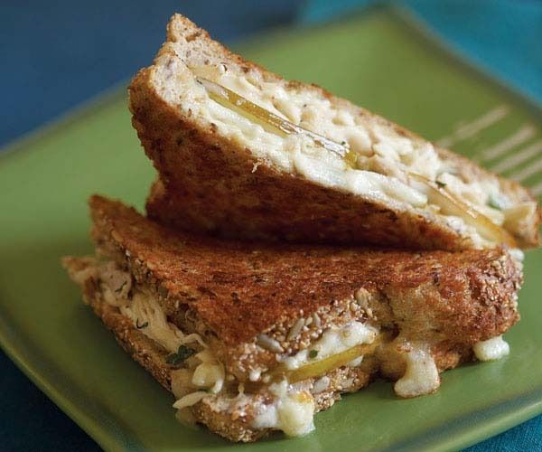 Grilled Brie, Turkey & Pear Sandwiches by Fine Cooking