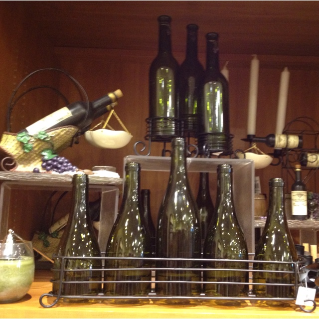 Wine decor from yankee candle Home Decor Ideas Pinterest