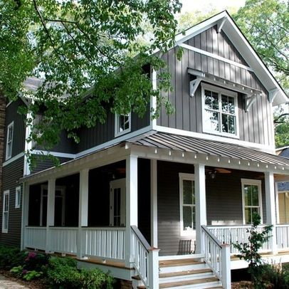 Vertical siding dream home pinterest for Vertical siding on house