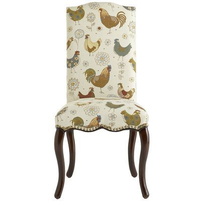 Claudine Rooster Counter Stool
