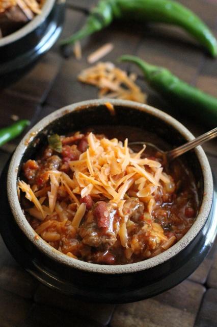 Korean Kimchi Chili and #SundaySupper Labor Day cook out   Crispy Bits ...