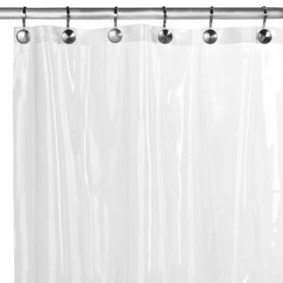 80 Inch Shower Curtain Liner Extra Wide Fabric Shower