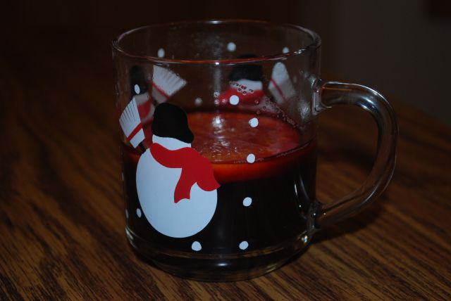 Vin Chaud - Hot Spiced Wine. Perfect for a cold winter's night!