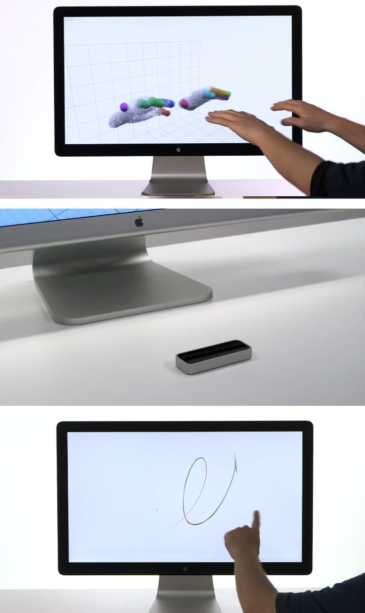 Kiss your mouse and keyboard goodbye - Control your computer with the Leap motion sensor.