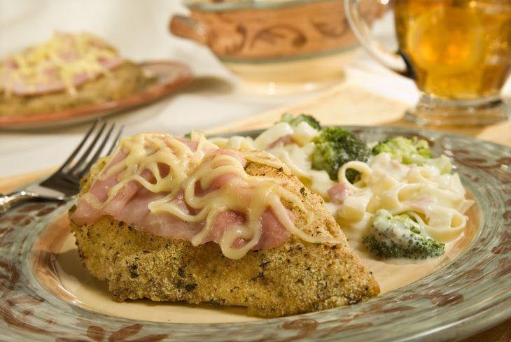 Crunchy Chicken Cordon Bleu II Recipe | CHICKEN | Pinterest