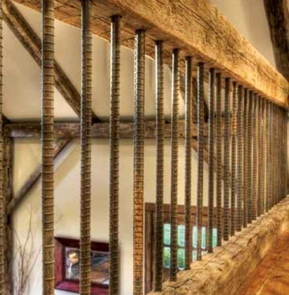 Best Rebar Posts Use On Deck Railing Decorating Pinterest 400 x 300