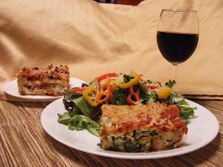 Spinach Lasagna-- Easy! | Eat It Savoury | Pinterest