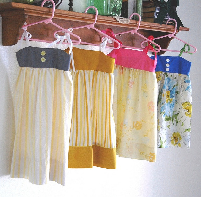 Variation of pillowcase dress Ideas for my Sewing Club Pinterest