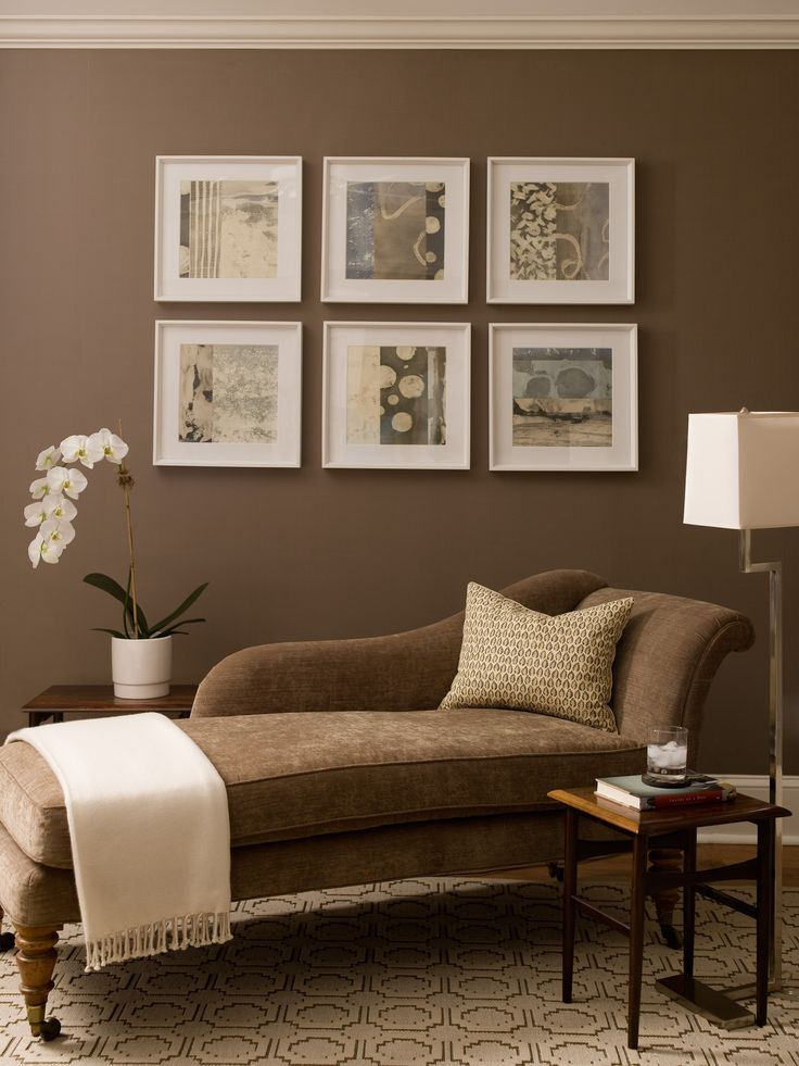 Like the paint color decorating ideas pinterest Brown wall color living room