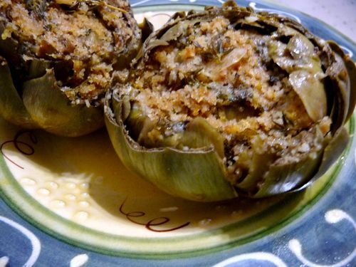 Italian Stuffed Artichokes | Food and Drink | Pinterest