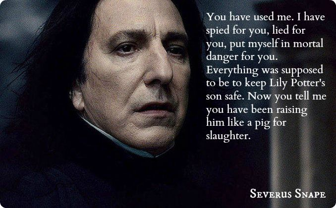 Severus Snape and Lily...