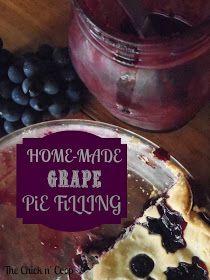 The Chick n' Coop: Grape Pie Filling & Grape Pie