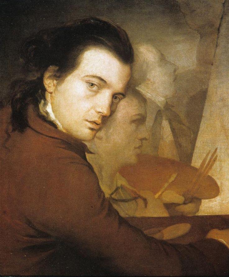 James Barry, Self-Portrait, 1767