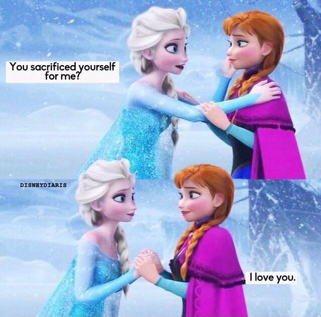 Disney Quotes / Frozen / Princess | Sisters | Pinterest