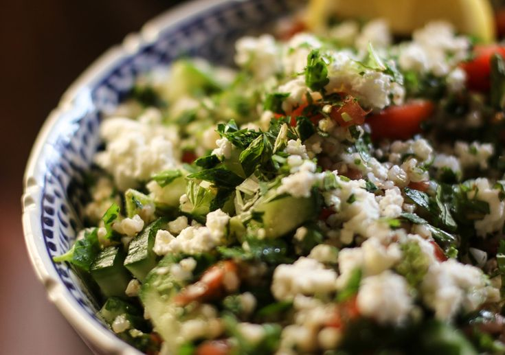 Buckwheat Tabbouleh with Goat Cheese | Whole Grains | Pinterest