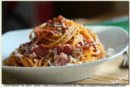 Low-fat Spaghetti alla Carbonara | Low Carb recipes | Pinterest