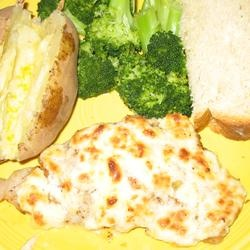 Broiled Grouper Parmesan Allrecipes.com | Seafood | Pinterest