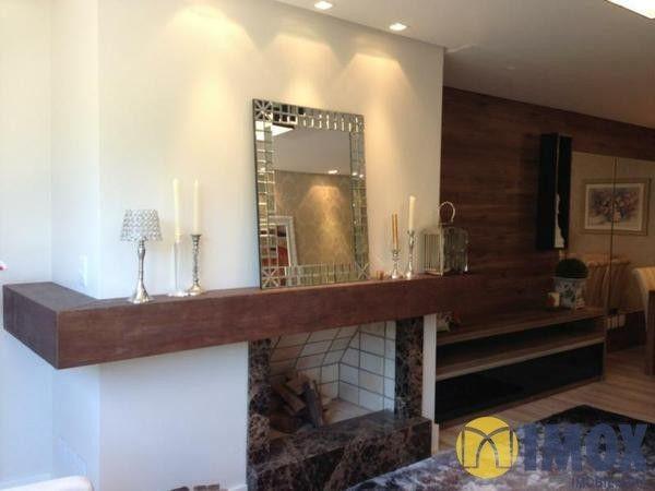 Essa lareira e a decoração de uma casa em Gramado/RS tá muito legal! Eu quero uma pra mim! Achei em http://www.imoximobiliaria.com.br/imoveis/flat