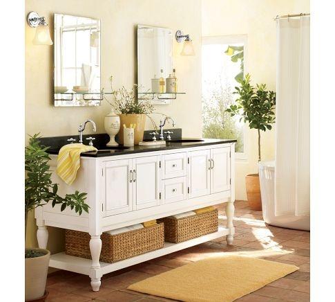 french apothecary bathroom set