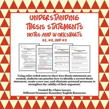 Create My Thesis Statement