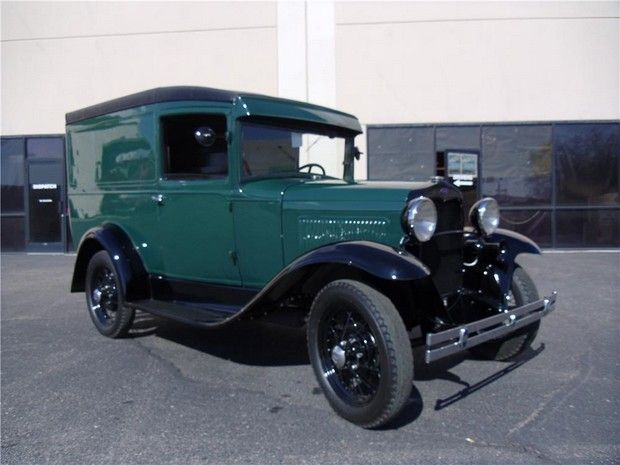 1930 FORD MODEL A PANEL DELIVERY TRUCK
