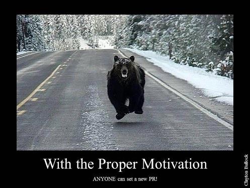 Bear-Motivation! Run Faster!   Health & Fitness   Pinterest