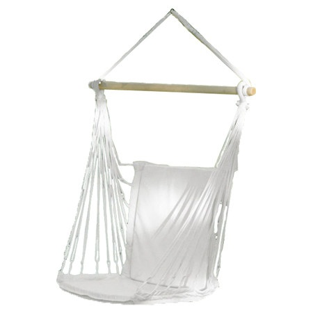 Comfy Indoor Outdoor Hammock Chair In Natural Ivory Product Hammock