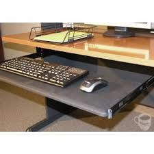 computer desk keyboard tray attachment - Google Search Bush Universal