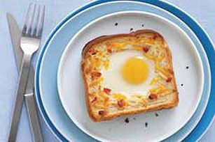 toad in the hole egg breakfast recipes yummly campfire breakfast toad ...