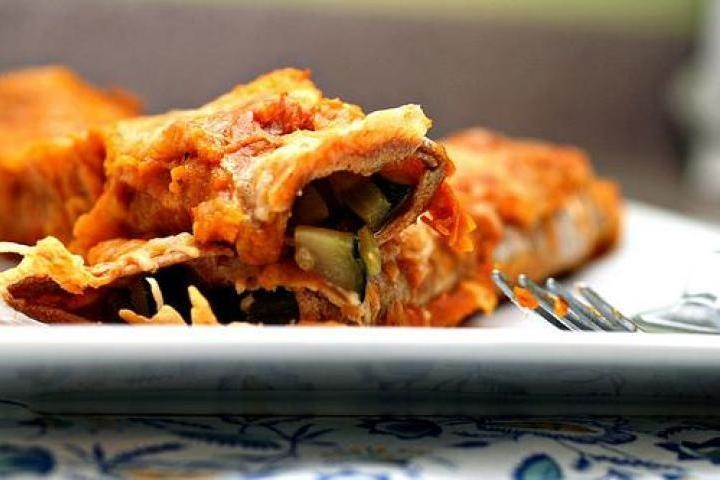 ... enchiladas chicken enchiladas i mushroom and zucchini enchiladas