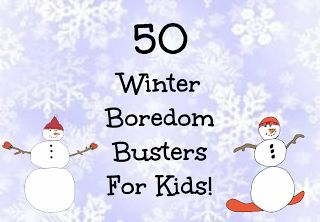 Cool stuff 2 do 4 kids 50 winter boredom busters for kids