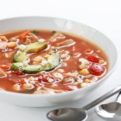 Spicy Chicken and Hominy Soup | Favorite Recipes ...