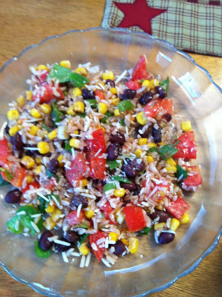 Fiesta Lime Brown Rice | Healthy Dishes I made | Pinterest