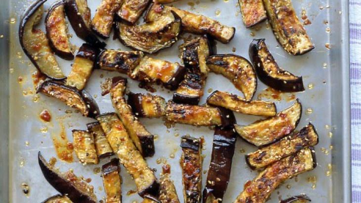 sesame chicken sesame chicken and eggplant recipe dishmaps sesame ...