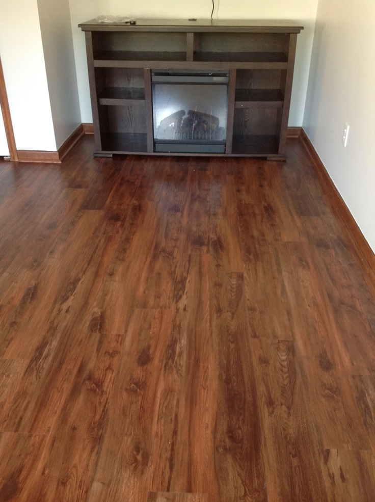 Vinyl planks that look like wood planks basement ideas for Vinyl flooring that looks like wood planks