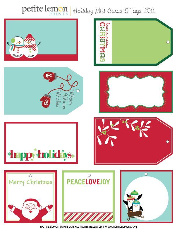 Free download christmas tags christmas pinterest for Christmas tags on pinterest