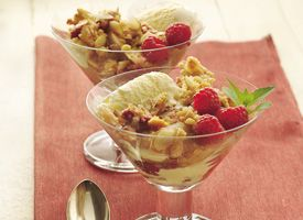 Pear and Raspberry Crisp | Recipe