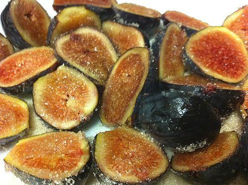 Caramelized Figs with Greek Yogurt and Orange Flower Water