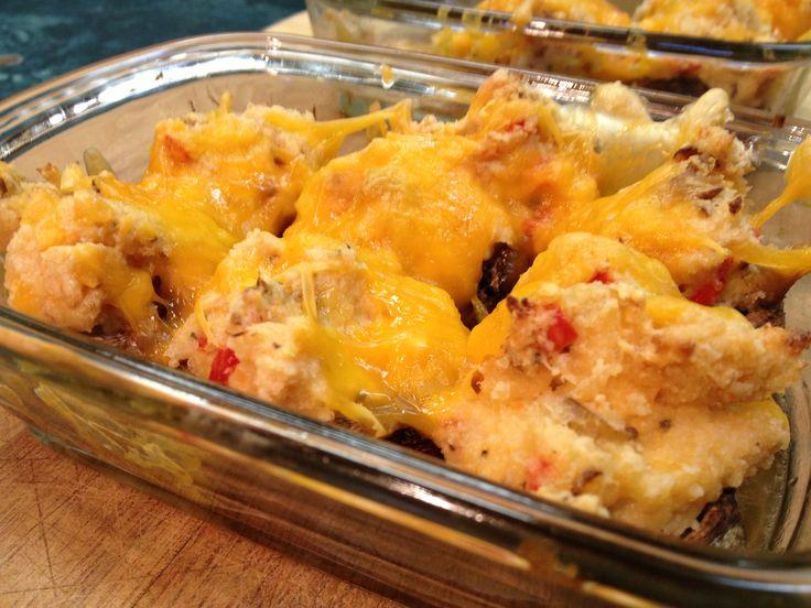 Paleo Seafood Stuffed Mushrooms | Paleo recipes | Pinterest