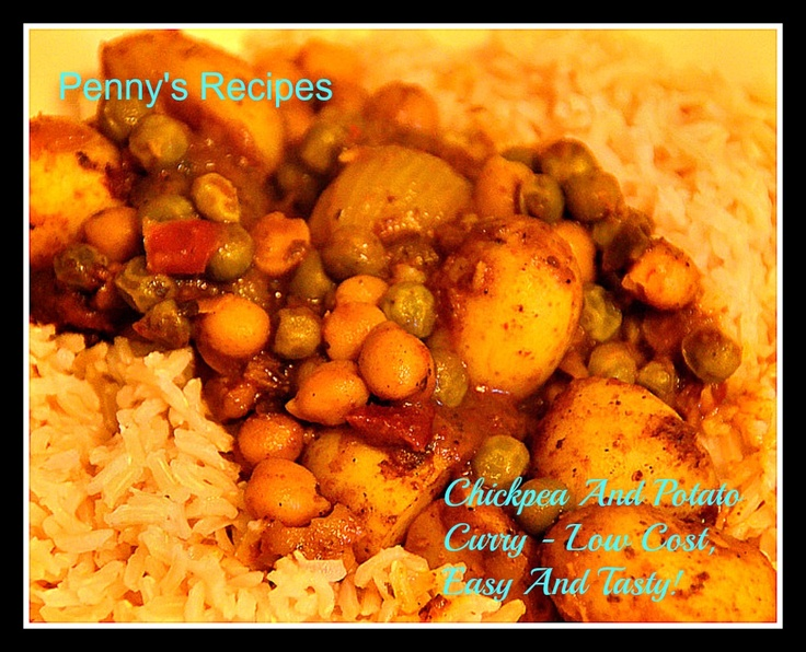 Chickpea and potato curry | Favourite Recipes | Pinterest