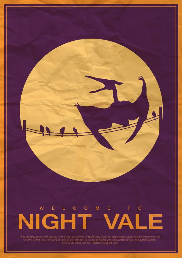 welcome to night vale by curlysamurai fandoms pinterest