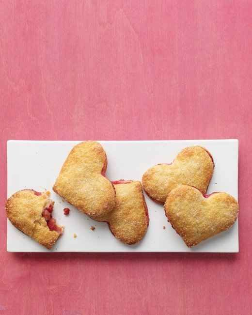 Pear-Raspberry Heart Pies   11 Everyday Foods You Can Make into ...