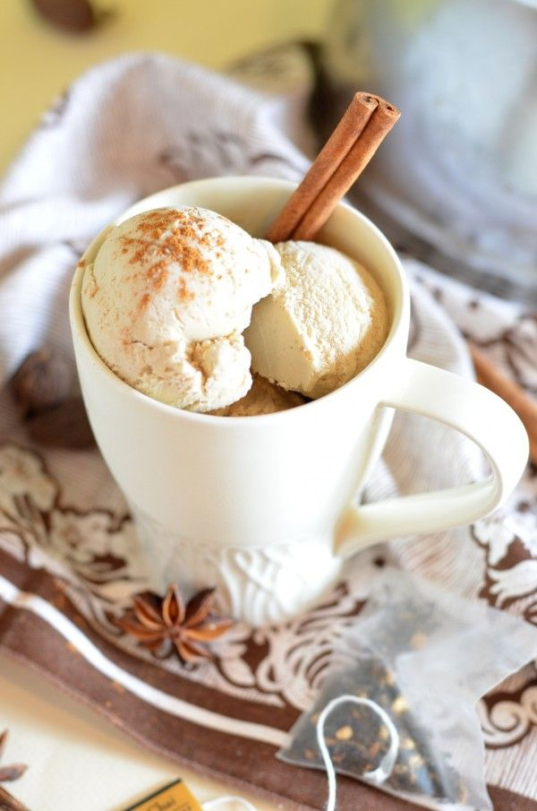 Chai Latte Ice Cream | Desserts!!! | Pinterest