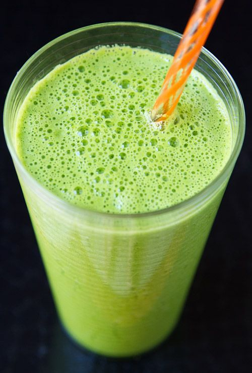 Green Apple & Spinach Smoothie | Smoothies & Juices | Pinterest