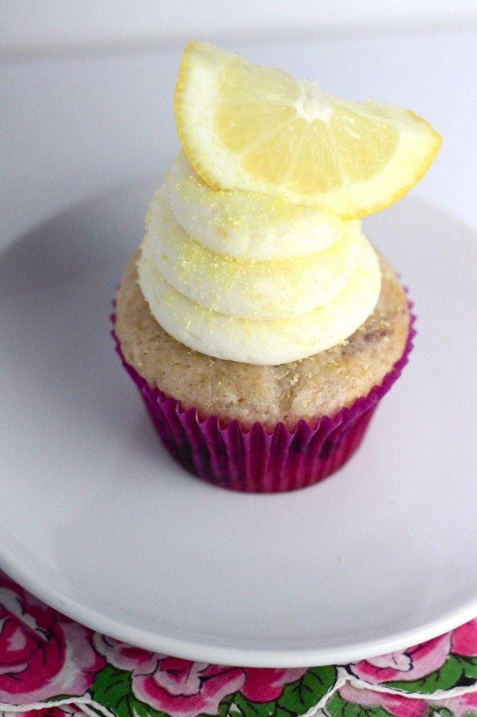 Blueberry Lemon Cupcakes | Recipe
