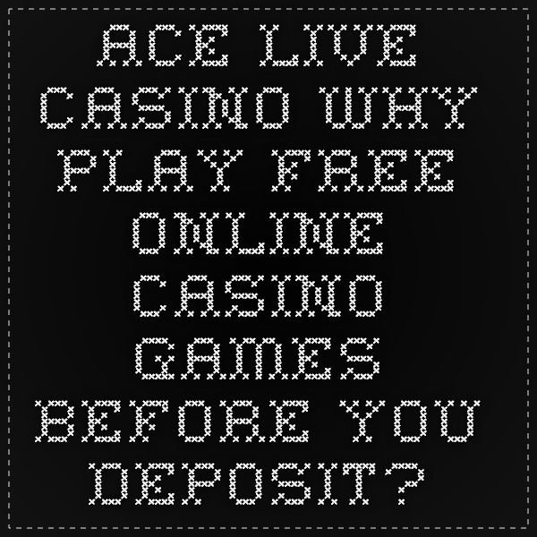 live online casino with free play on sign up