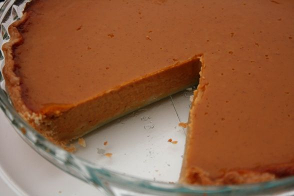 Silk Smooth Pumpkin Pie | Indulge | Pinterest