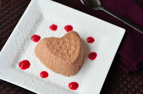 Chocolate Coeur a la creme | Other Sweets | Pinterest