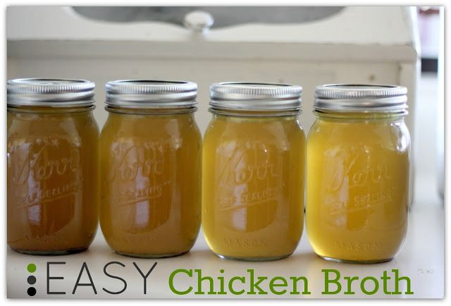 ... Easy Chicken Broth. Very good for your gut health and easy to make