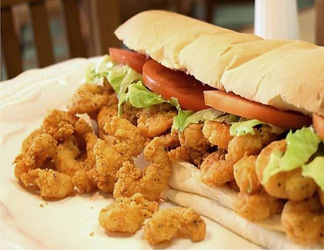 SHRIMP PO-BOY | Sandwiches | Pinterest